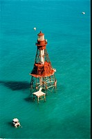 lighthouse located at AmericanShoal, Florida, United States
