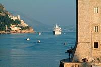 Hafenmauern Dubrovnik
