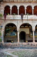 Monastery of Santo Domingo de Silos, Cuzco, Peru.