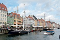 Main canal al the city of Copenhagen, Denmark
