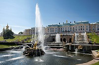 Petrodvorets. Peterhof. St.Petersburg. Russia