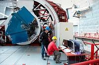 The Gran Telescopio CANARIAS GTC, Roque de los Muchachos Observatory, La Palma, Canary Islands, Spain   The Gran Telescopio CANARIAS GTC is a 10,4 met...