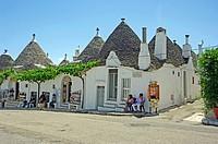Sun Baked Trulli Shop and Villa Alberobello Puglia Southern Italy