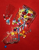 Broken candy jar