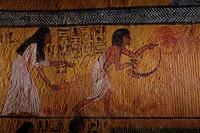 Deir el Medina, West Bank, Luxor, Egypt.