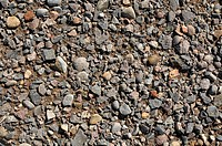 Blue Rock Gravel Background