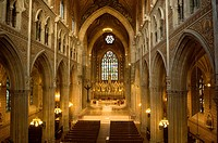 Interior of St Patrick´s Roman Catholic Cathedral in Armagh.