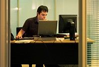 Office Worker Working