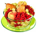 Bowl Of Fresh Fruit Cut Out