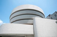 Usa, New York City, Guggenheim Museum by Frank Lloyd Wright