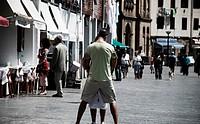 Love in the street.