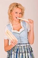 Bavarian asparagus