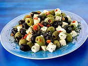 Greek Feta And Olive Salad - Non Exclusive
