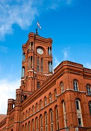 Berlins townhall _ Rotes Rathaus