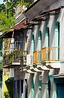 Old city casco viejo, San Felipe district, Panama City  Panama.