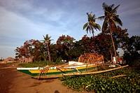 Der Stadtstrand von Dili der Hauptstadt von Ost Timor auf der in zwei getrennten Insel Timor in Asien. .