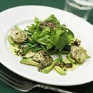 Artichoke and truffle salad
