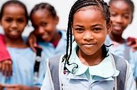 School girls, Mahajanga, Madagascar