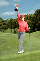 Victorious Golfer