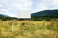 Abandoned Drive_in Movie Theater