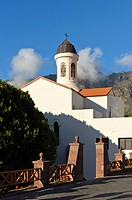 Church of Tejeda, Gran Canaria, Canary Islands, Spain, Europe