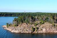 Die Schären vor der finnischen Hauptstadt Helsinki / The archipelago near the finish capital Helsinki
