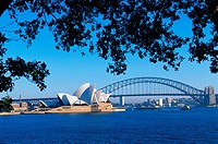 Sydney Opera House and Sydney Harbour Bridge
