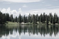 Alta Lake, Uncompahgre National Forest, San Juan Mountains, Rocky Mountains, Colorado