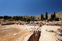 Archaeological site, Kato Zakro, Prefecture Lasithi, Crete, Greece