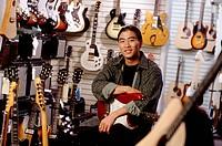 Guitar store owner