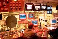 Steel plant control room