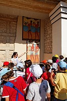 Great Propylea, south entrance, Palace of Knossos, Knossos, Crete, Greece