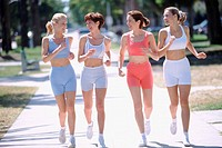 Jogging and gossiping