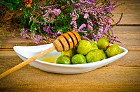 Brussels sprouts with honey