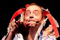 RAINALD GREBE DAS ORCHESTER DER VERSÖHNUNG in der Kulturarena Jena 2011 Gesang Klavier:Rainald Grebe Das Orchester der Versöhnung:Martin Brauer, Marcu...