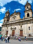 Cathedral, Bolívar Square, Plaza de Bolívar, Bogotá, Colombia, South America.