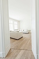 Germany, Berlin, Modern living room
