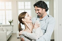 Germany, Berlin, Mature couple smiling