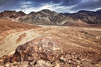 USA, California, Death Valley, barren landscape