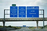 Road Signs,Spain