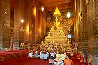 Thailand - Bangkok, Wat Pra Kaeo - Grand Royal Palace, Wat PoTemple, Esmerald Buddha