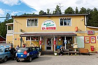 Bodsjö, agricultural trade,Jämtland Sweden