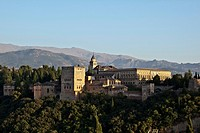 Alhambra, city of Granada, Andalusia, Spain, Europe