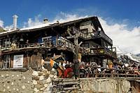 Chalet Chez Vrony, restaurant, Zermatt, Valais, Switzerland, Europe