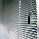 Venetian blind in office