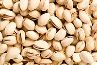 Detail of pistachios