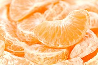 Detail of tangerine slices