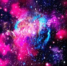 Deep space  Abstract natural backgrounds