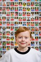 Smiling Redheaded Boy