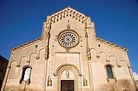 cattedrale della madonna della bruna e di sant´eustachio, duomo di matera, basilicata, italia